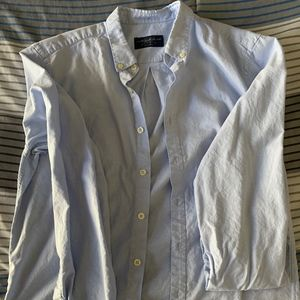 Pull & Bear Light Blue Button Down Shirt.